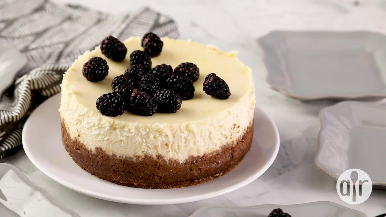instant pot cheesecake video