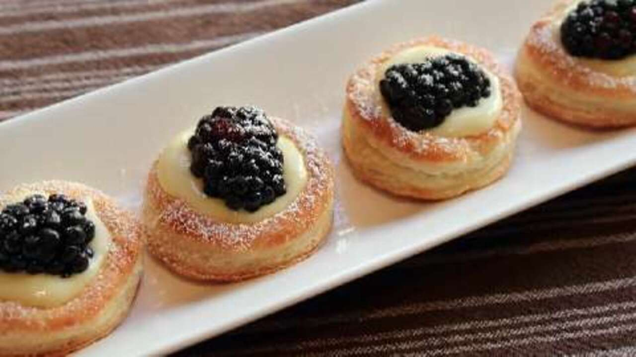 lemon berry tartlets video