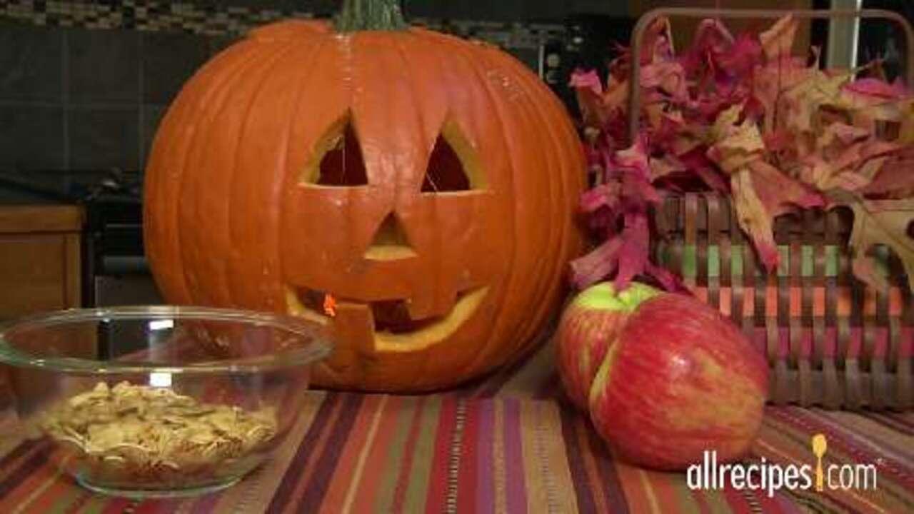 how to roast pumpkin seeds video