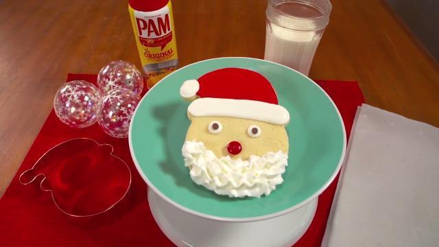 santa sugar cookies recipe allrecipescom