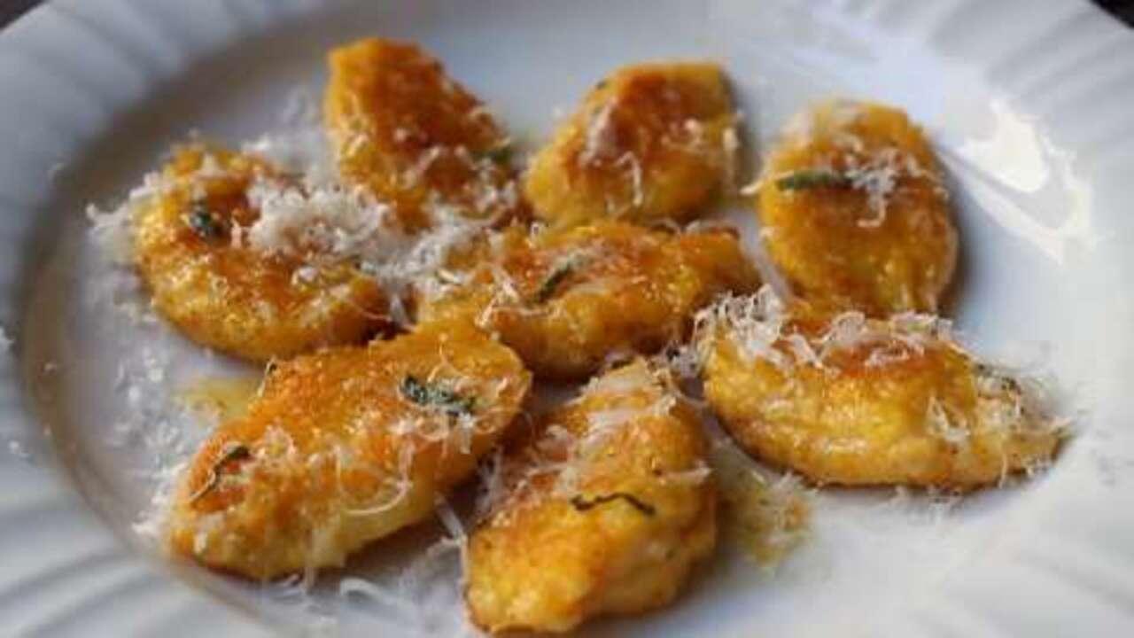 Butternut Squash and Mascarpone Gnocchi Video