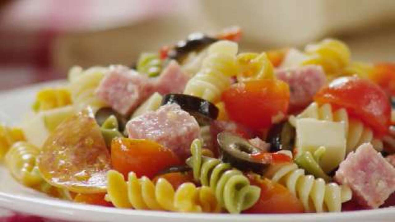 awesome pasta salad video
