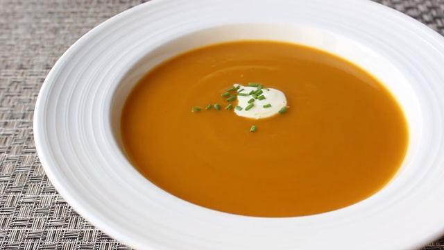 chef johns roasted butternut squash soup video