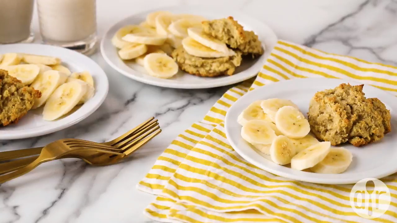 whole30 banana bread drop muffins video