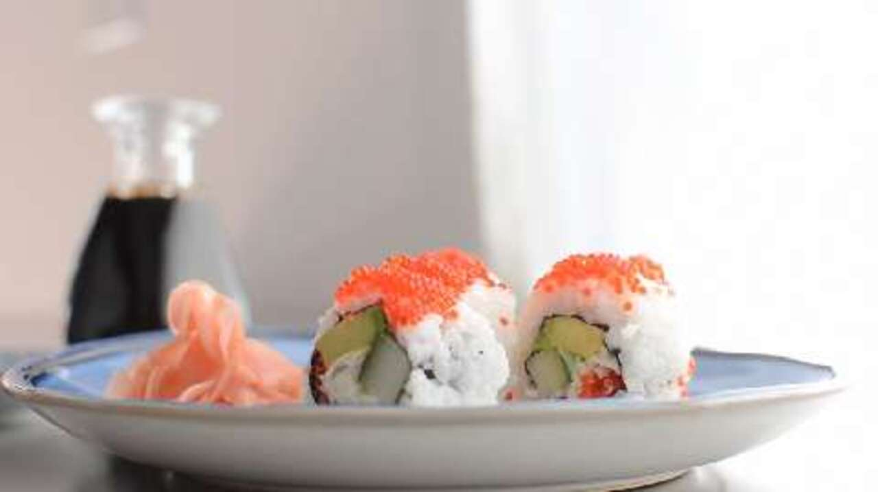 How to Make a California Roll Video