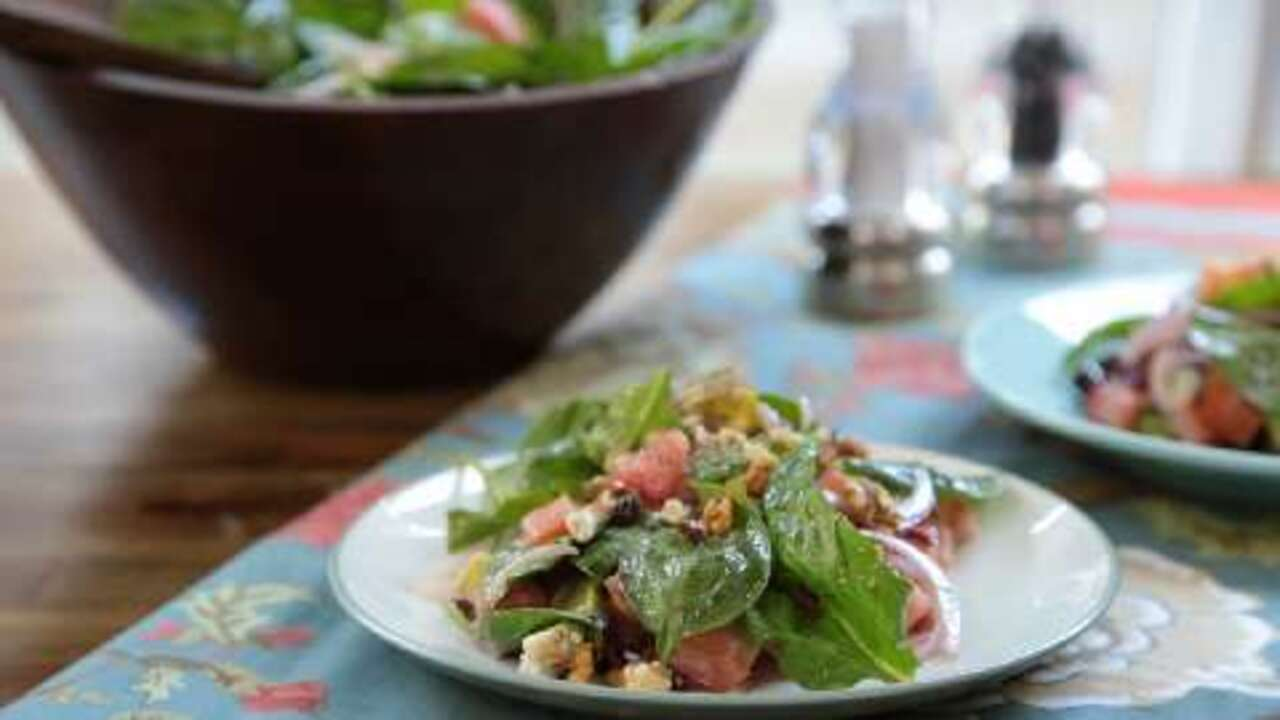 harvest salad video