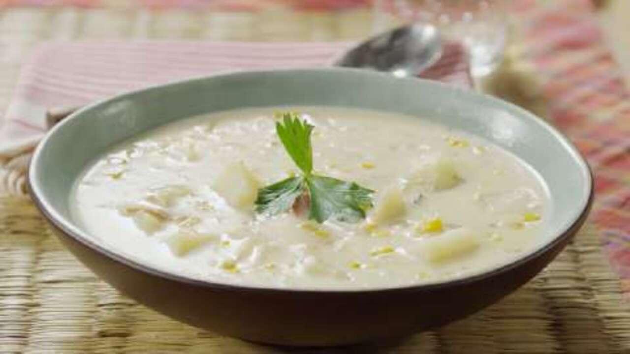 grandmas corn chowder video