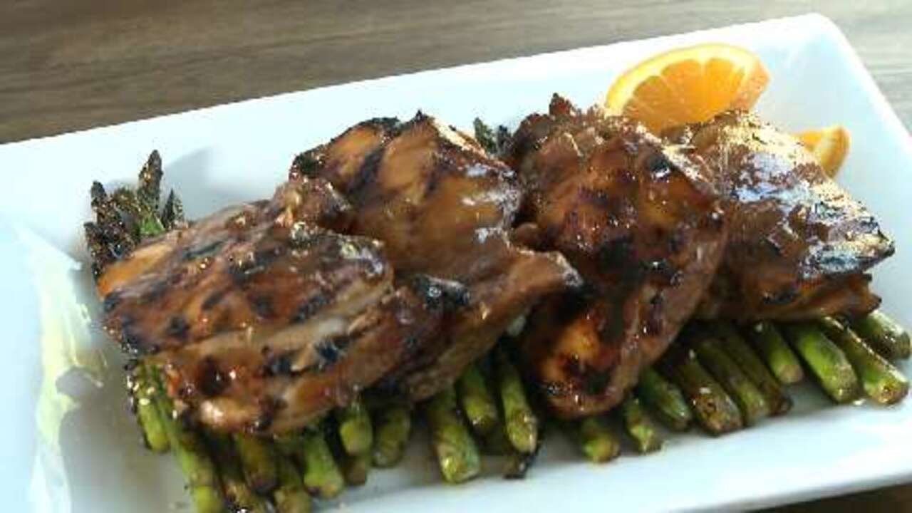 Asian Grilled Chicken Video