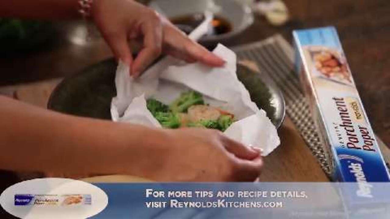utokias tips for ginger shrimp broccoli video