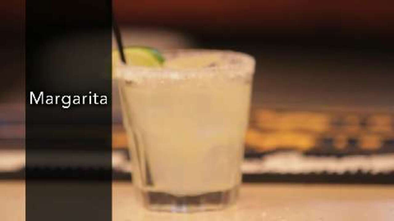 margarita cocktail video