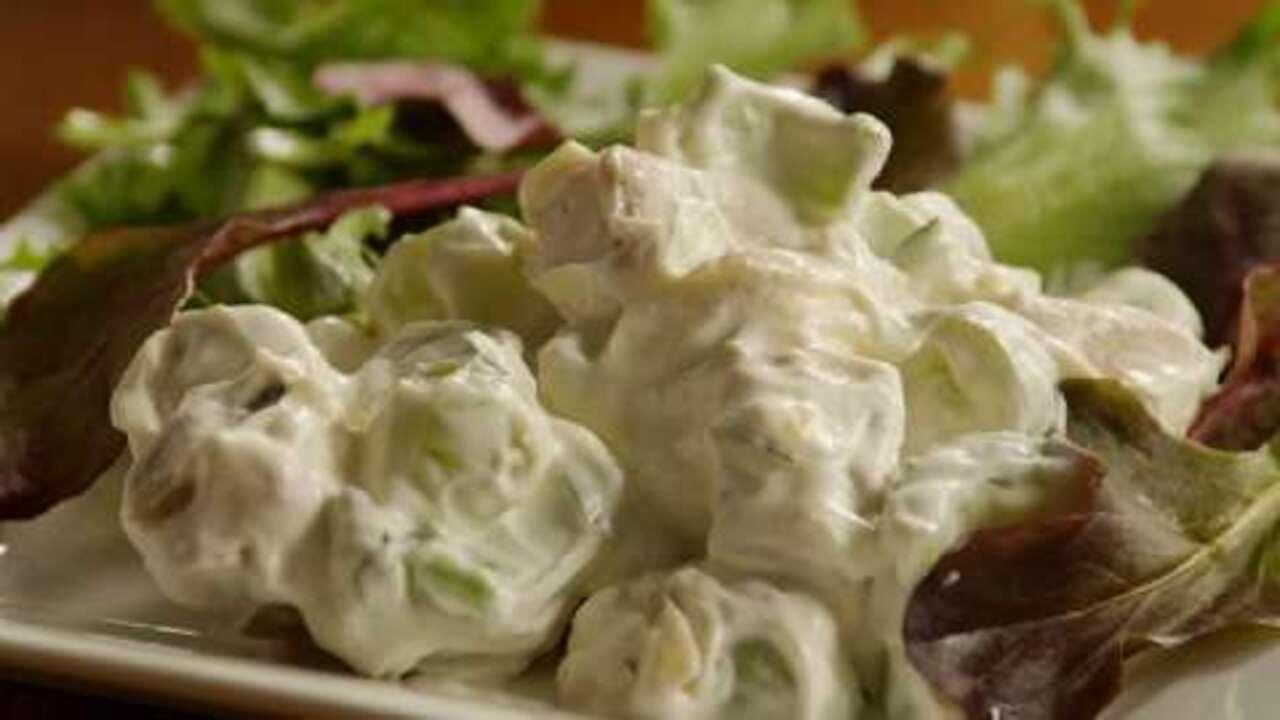 beckys chicken salad video