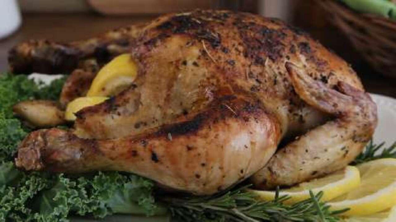 roasted lemon herb chicken video