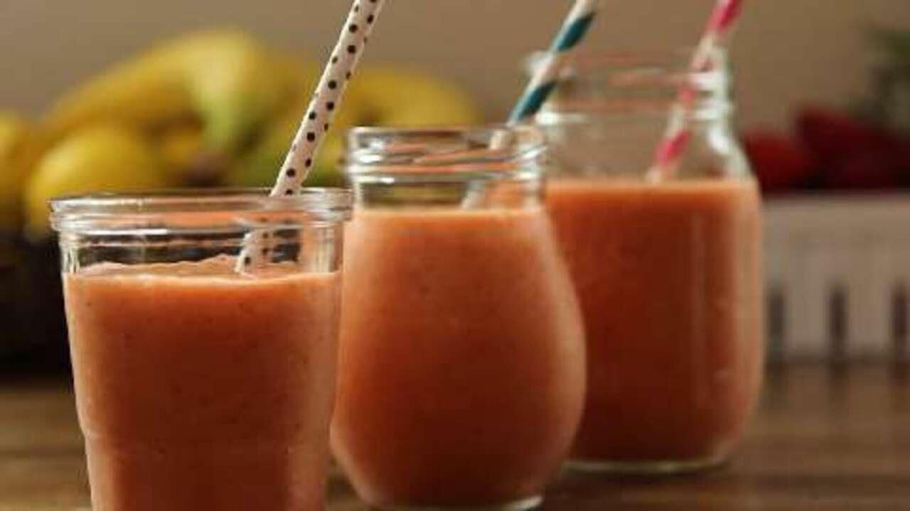 basic fruit smoothie video
