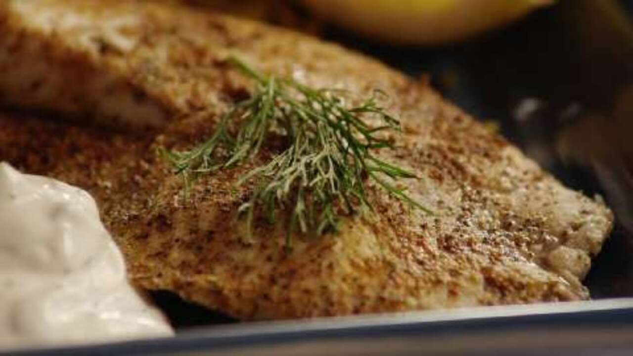 hudsons baked tilapia with dill sauce video