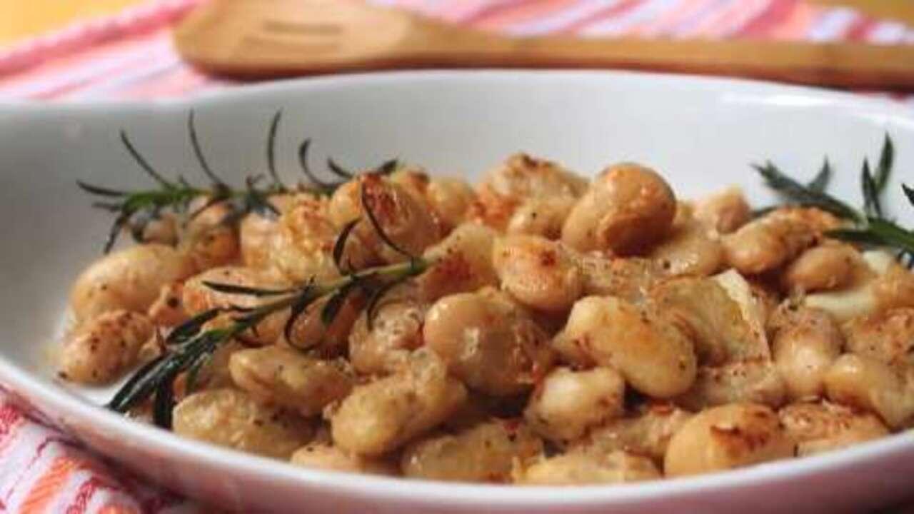 Pan-Fried Butter Beans Video