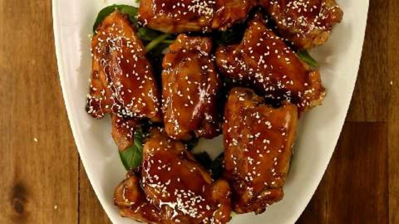 oven roasted teriyaki chicken video