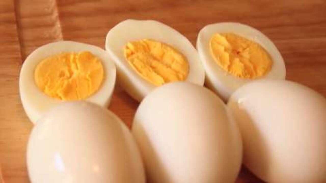 How To Make Perfect Hard Boiled Eggs Recipe Allrecipes
