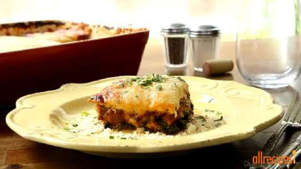 No-Noodle Zucchini Lasagna Video