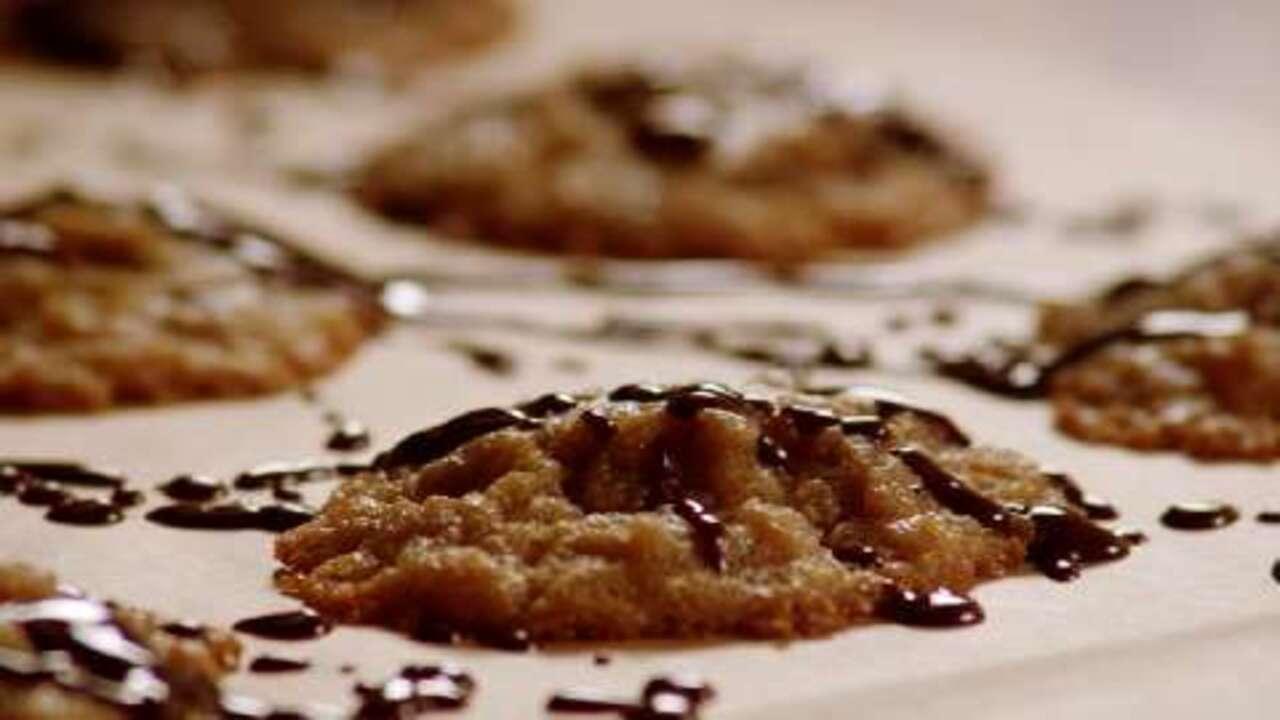 flourless peanut butter cookies video