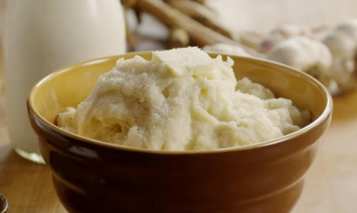 roasted garlic mashed potatoes video