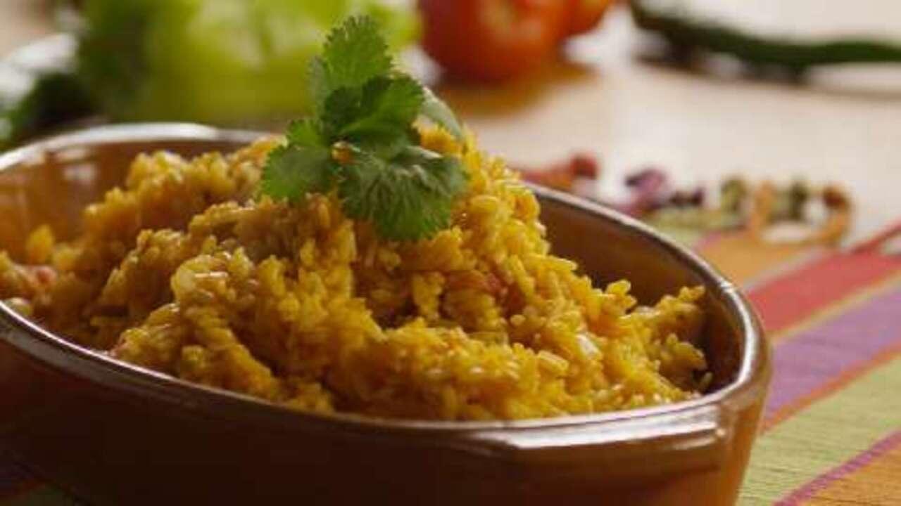 best spanish rice video