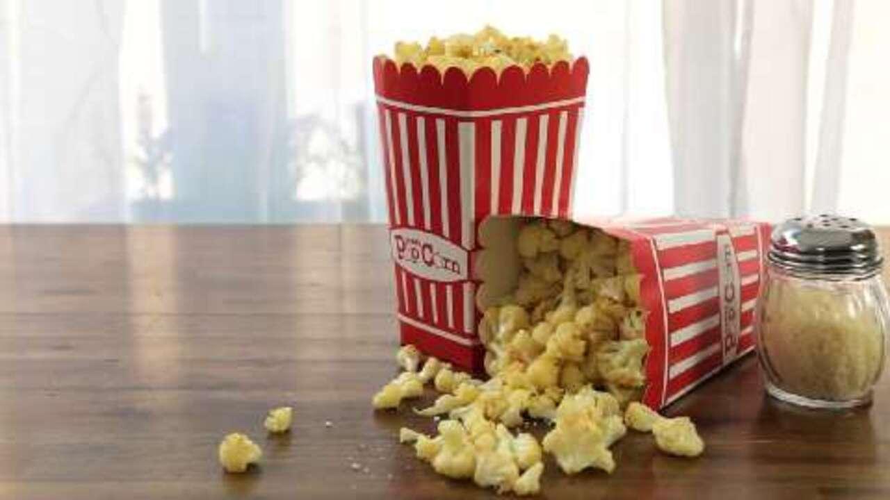 cauliflower popcorn video