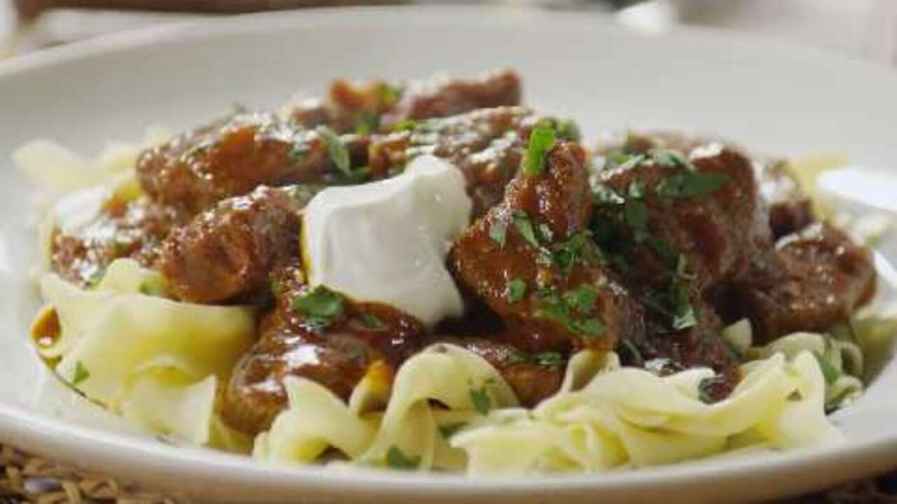 Hungarian Goulash I Video Allrecipes Com