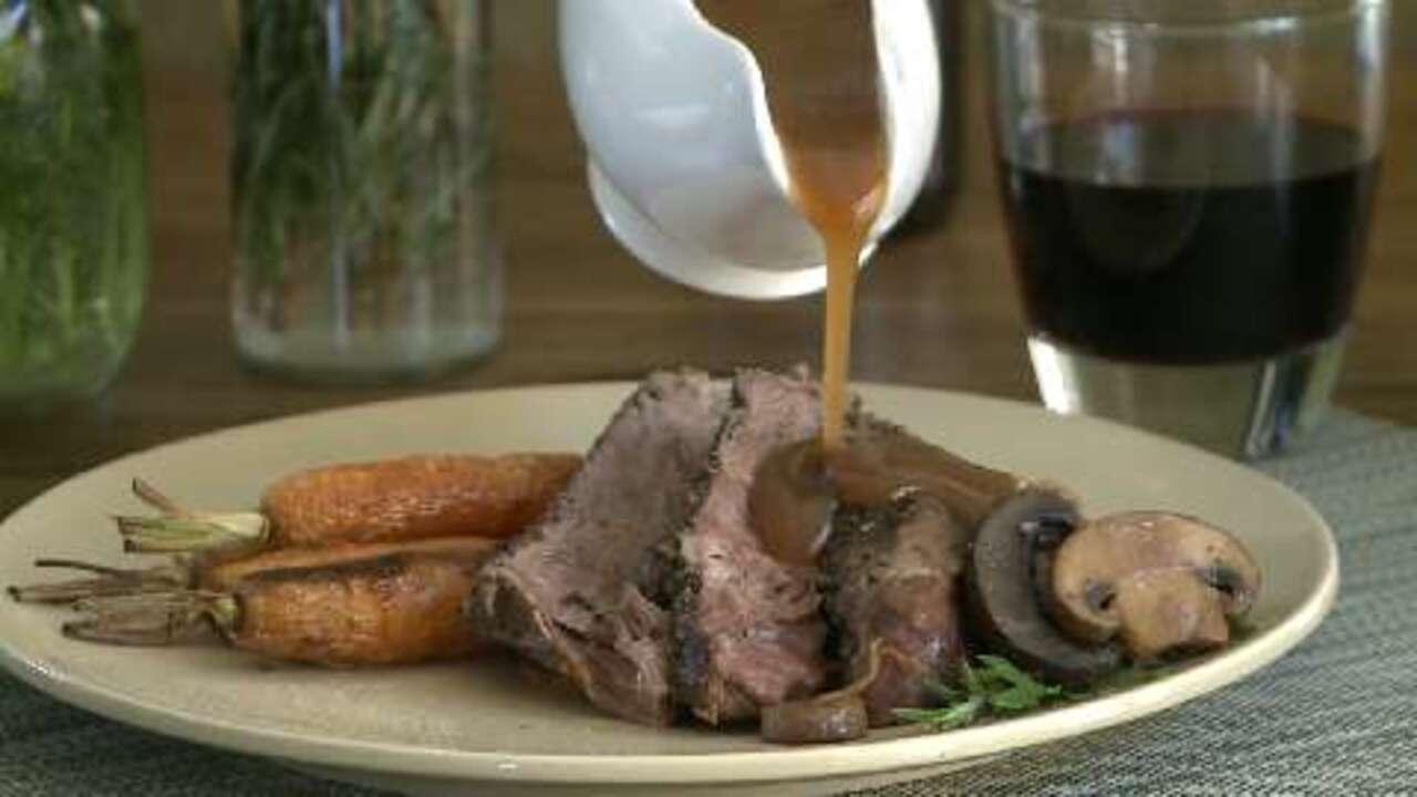 Slow Cooker Roast Beef Video