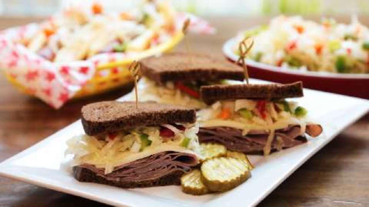 sauerkraut salad video