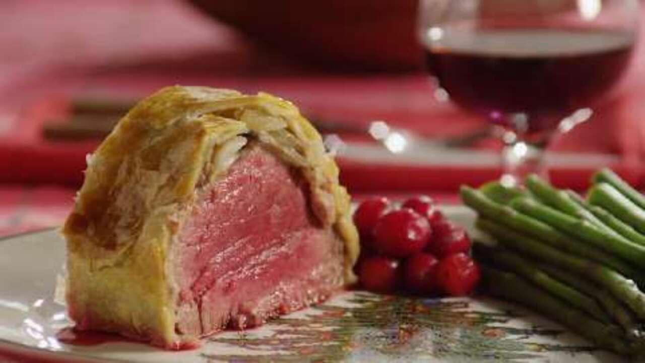 beef wellington video