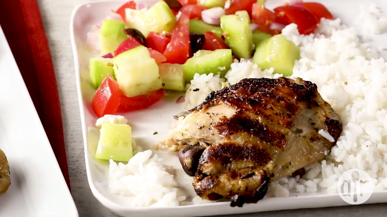 lime tarragon grilled chicken video