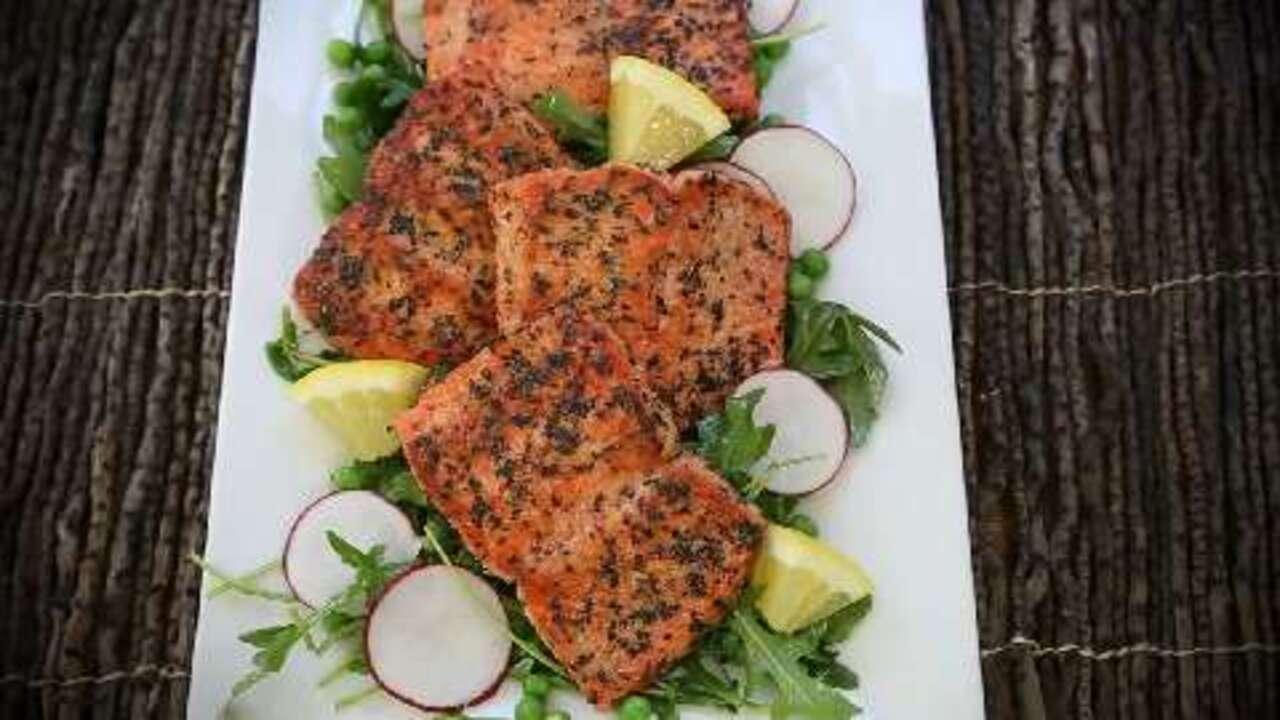 super simple salmon video