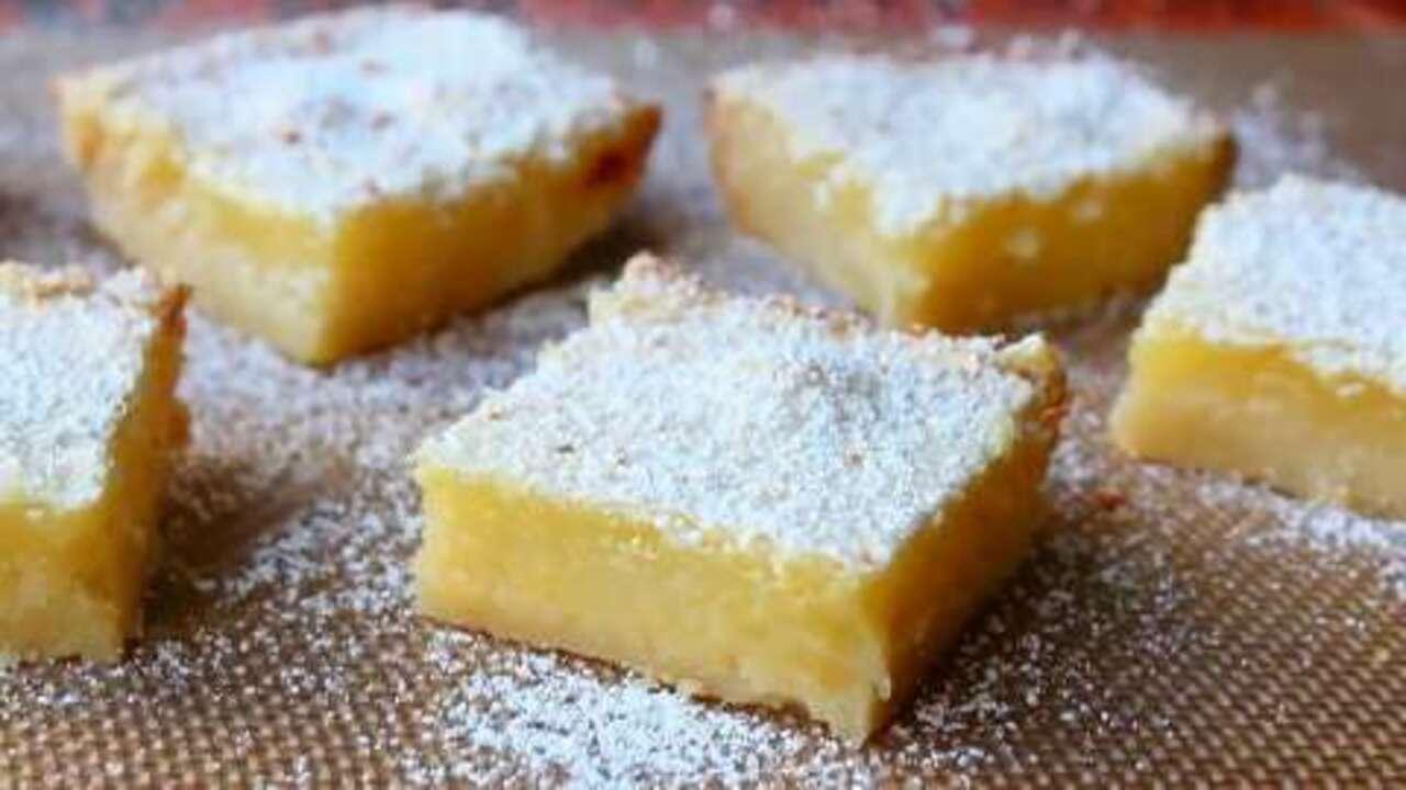 how to make lemon bars video