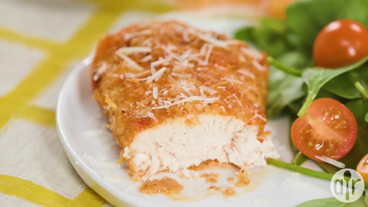 Baked Paprika-Parmesan Chicken Recipe