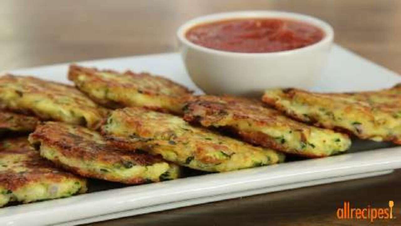 zucchini patties video