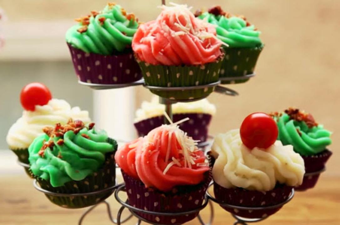 meatloaf cupcakes video
