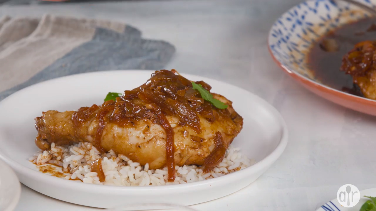 famous chicken adobo video