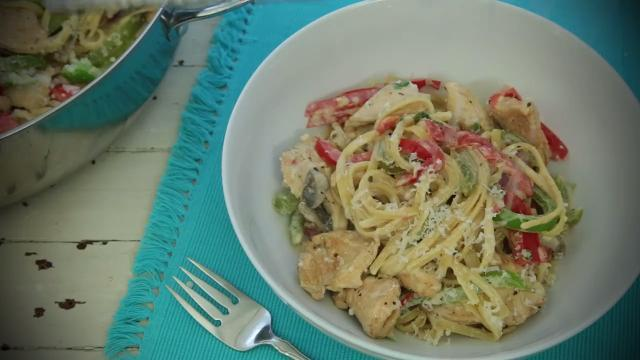 Cajun Chicken Pasta Video Allrecipes