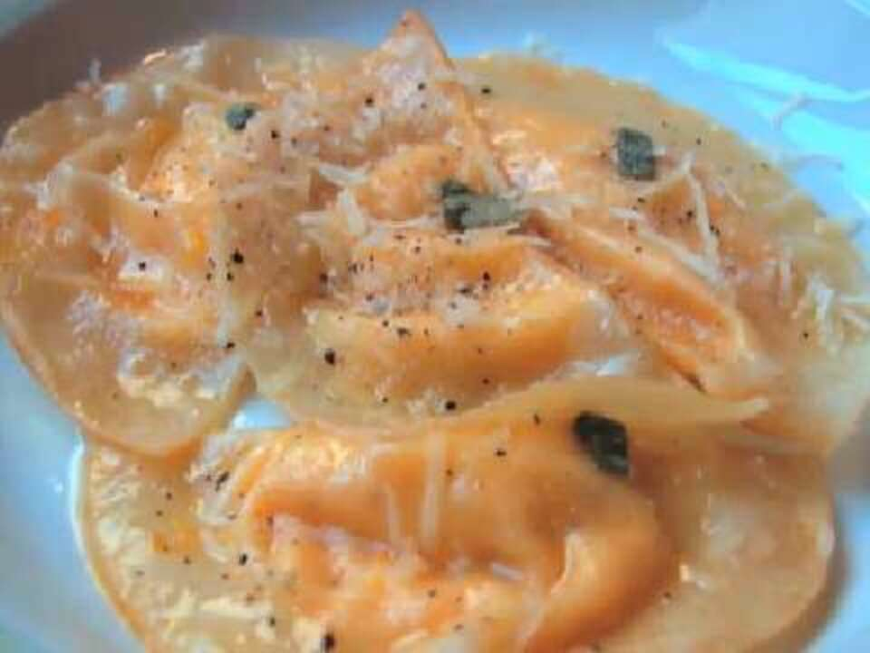 Easy Butternut Squash Ravioli Video