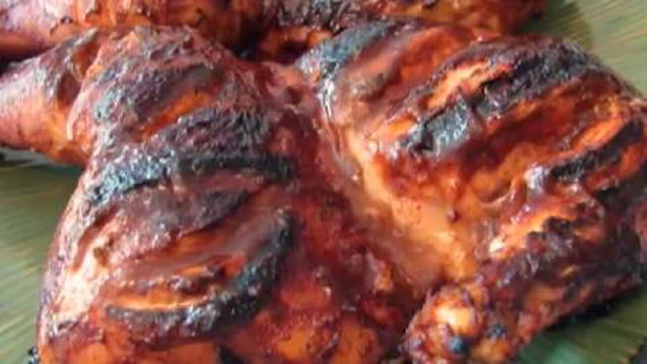 how to make barbecue chicken video