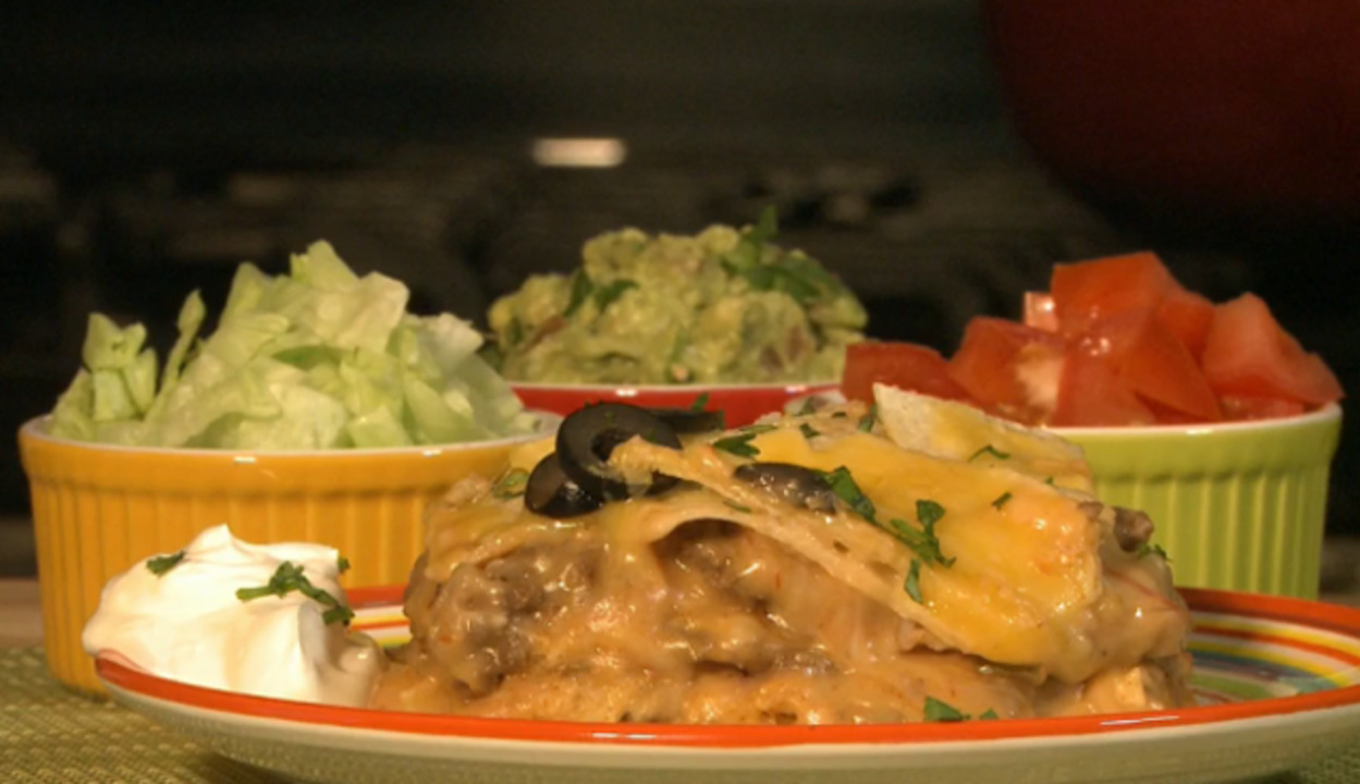 Slow Cooker Enchiladas Video