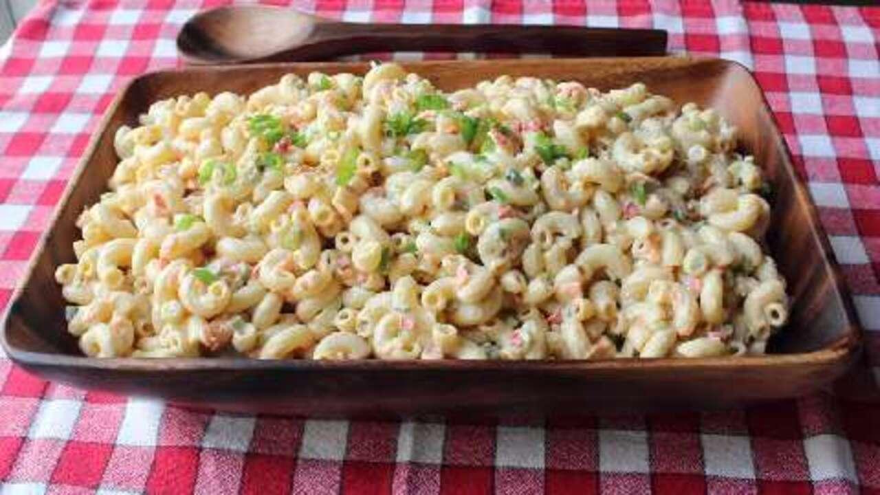chef johns classic macaroni salad video