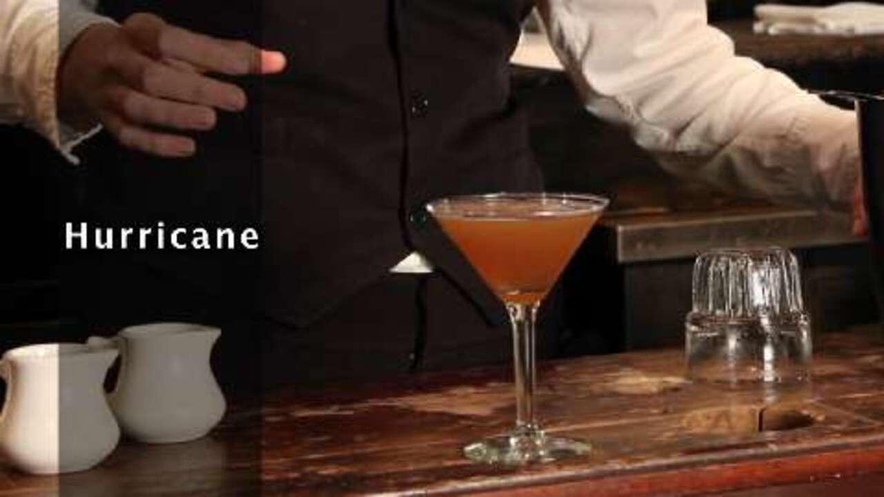 hurricane cocktail video