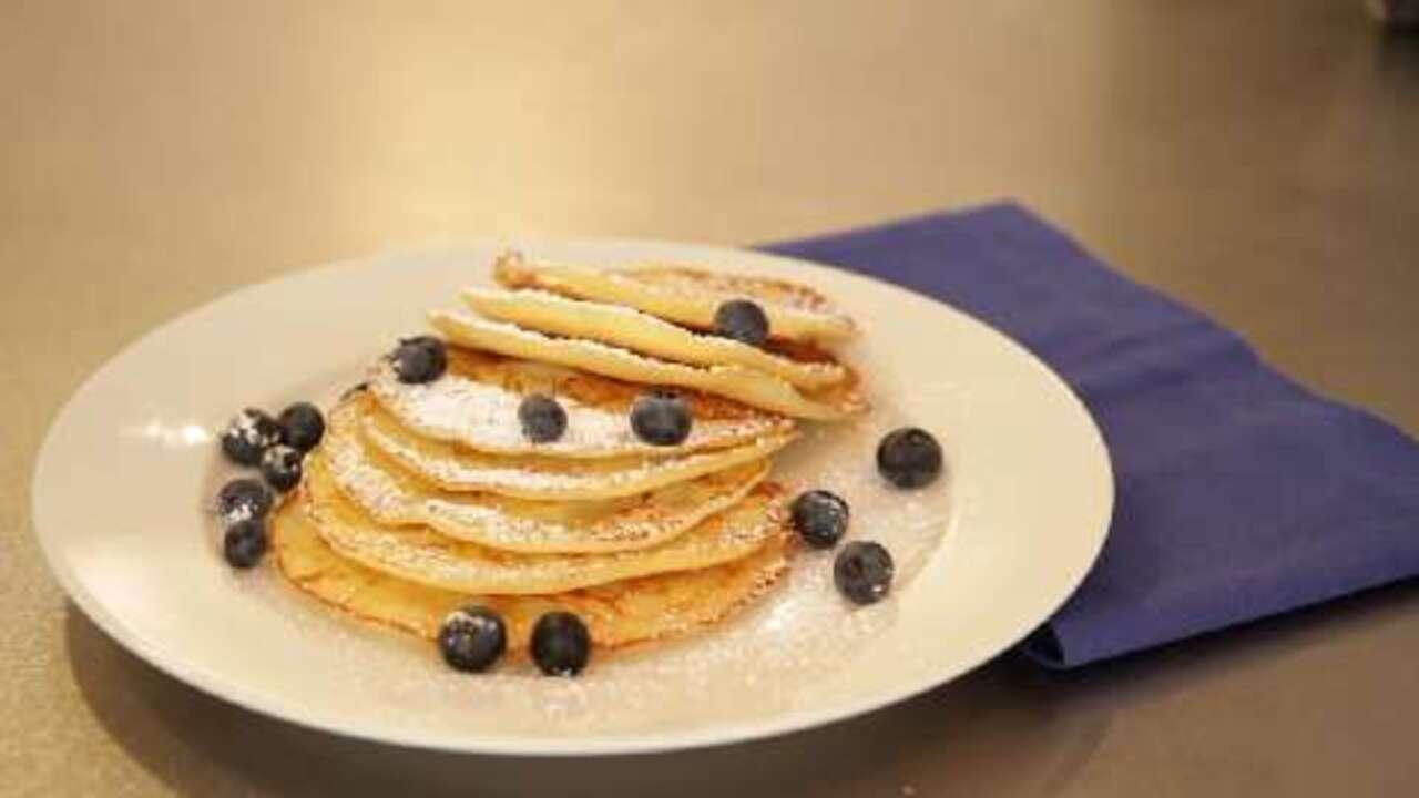 rice flour pancakes video