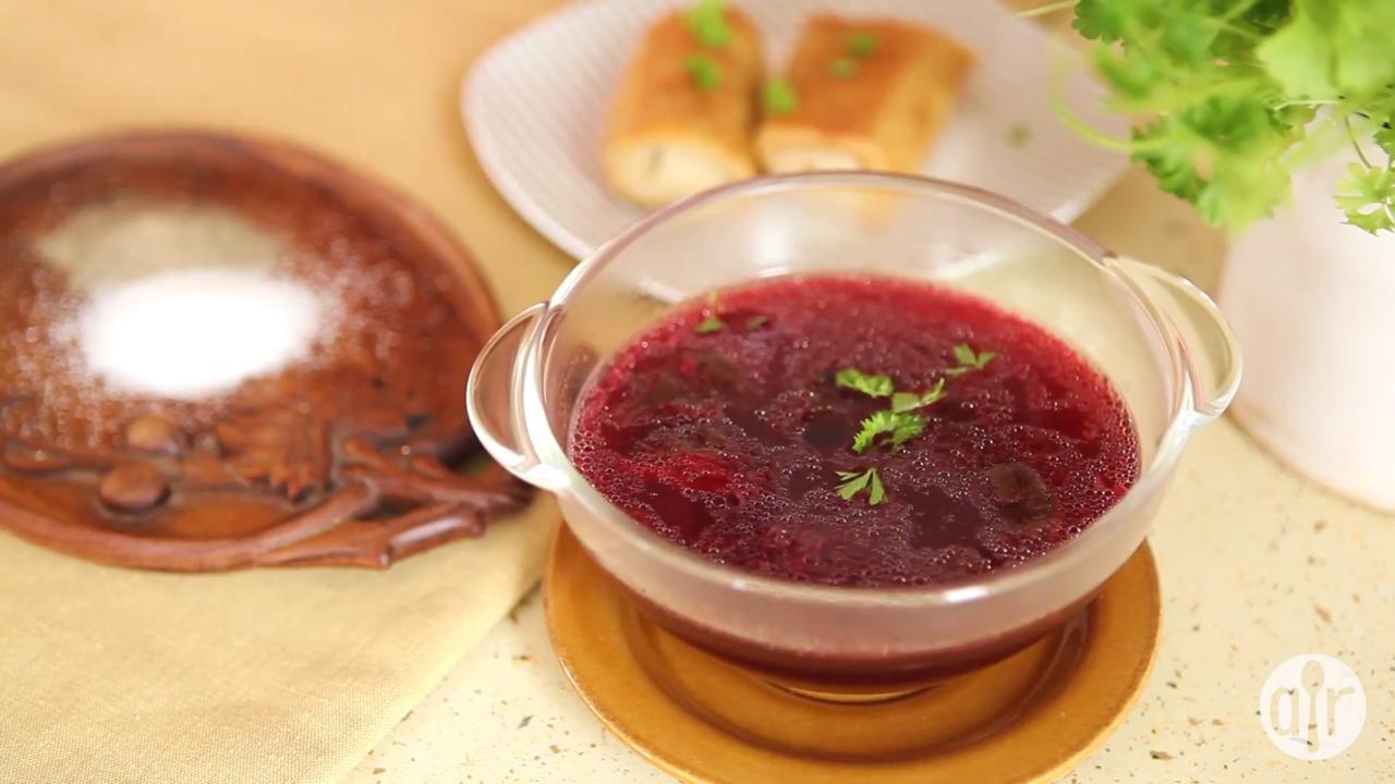 Polish Borscht Video Allrecipes Com