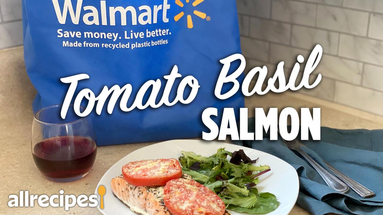 make it a meal tomato basil salmon video