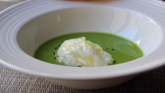 gazpacho verde burrata video