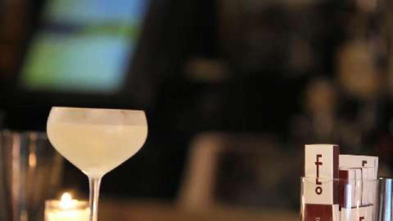vodka martini cocktail video