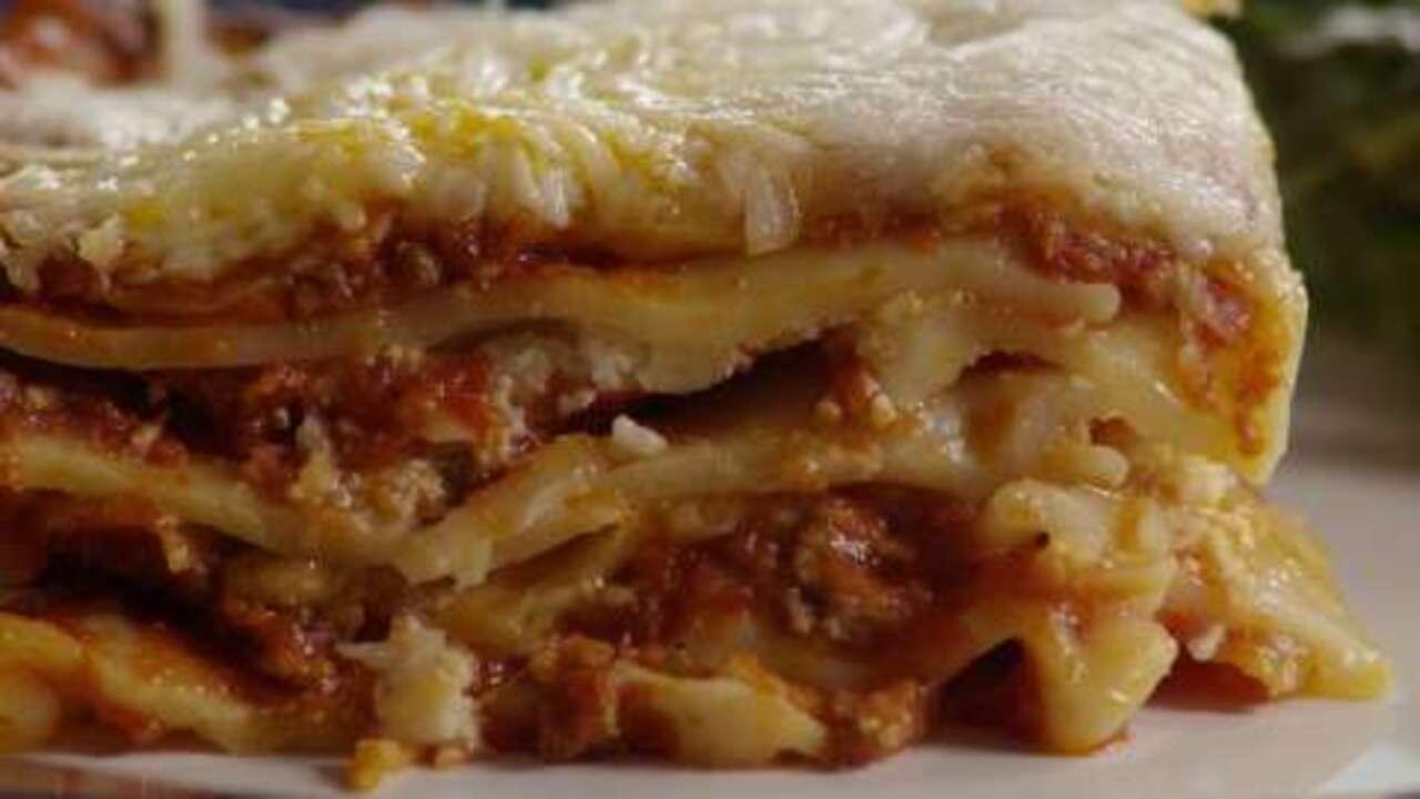 lindas lasagna video