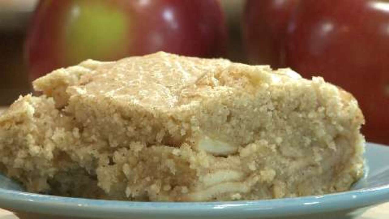 Passover Apple Cake Video